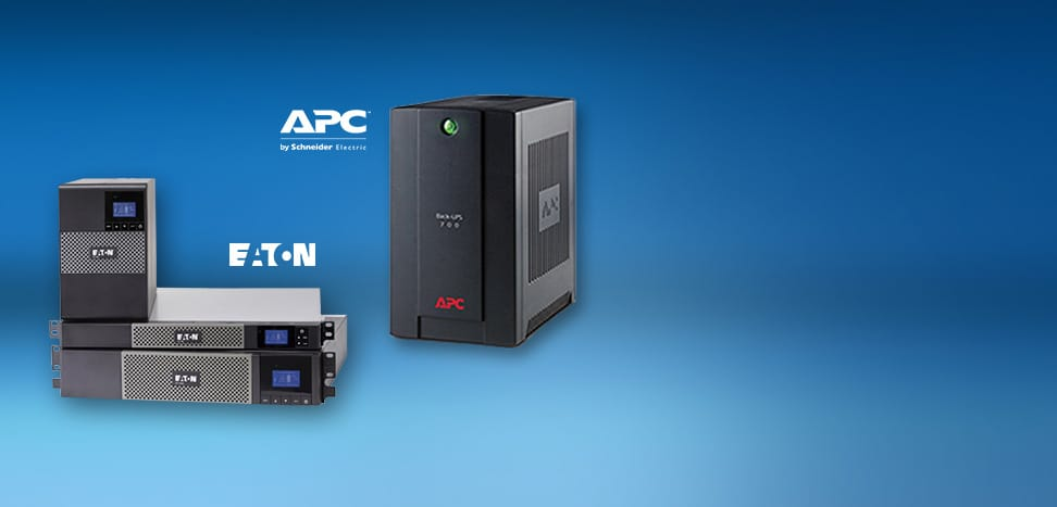 <span/>Power Protection</span> UPS Units Eaton & APC